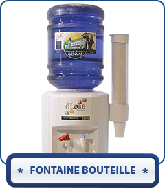bouton fontaine bouteilles